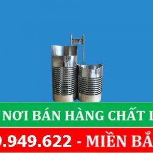 Ống Đựng Đũa   Inox SUB 304   Loại Đôi   Hãng Xuân Phát