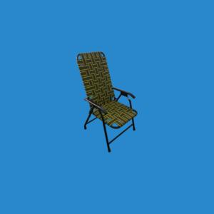 Ghế Cafe Xếp | Khung Sắt | Vải Dù | Hãng Minh Quốc