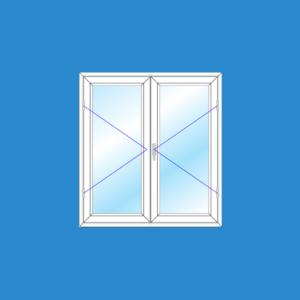 Cửa Sổ 2 Cánh Mở Ra Vào | Cửa Nhựa Lõi Thép | Dòng Tiêu Chuẩn