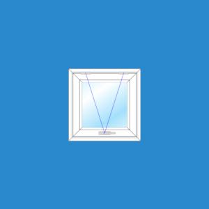 Cửa Sổ Mở Hất 1 Cánh | Cửa Nhựa Lõi Thép