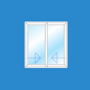 Cửa Sổ Lùa 2 Cánh | Cửa Nhựa Lõi Thép